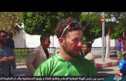 لقاء خاص مع نسيم سعيدي لاعب منتخب الجزائر للدراجات على هامش سباق مصر الدولي