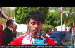 لقاء خاص مع يوسف مرزا لاعب منتخب الإمارات للدراجات على هامش سباق مصر الدولي