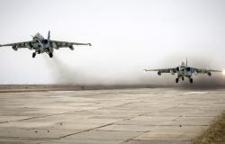 بعد كفرنبودة... سلاح الجو السوري يدمر رتلا للمسلحين بين خان شيخون والهبيط بريف إدلب