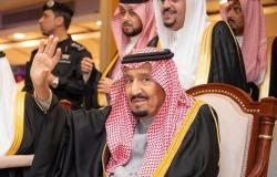 تناولوا معه الإفطار... الملك سلمان يستقبل وفدي الإمارات والكويت
