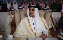 أمير قطر يتلقى رسالة عاجلة من الملك سلمان