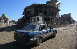 انفجار سيارة مفخخة في الموصل يسقط قتيل وثلاثة جرحى