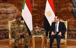 المجلس العسكري في السودان يكشف تفاصيل لقاء السيسي والبرهان