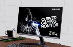 سامسونج تكشف عن شاشة ألعاب منحنية بتردد 240 هرتز
