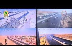 8 الصبح -  من داخل الأدارة العامة للمرور ورصد الحالة المرورية بشوارع العاصمة