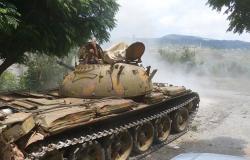 """الجيش السوري يحبط هجوما """"للنصرة"""" و""""التركستاني"""" في ريف اللاذقية الشمال الشرقي (فيديو)"""