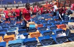 « فخور بهذا النموذج المحترم لشباب الوطن ».. السيسي تعليقا علي حملة لتنظيف مدرجات ستاد القاهرة