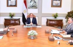 """السيسي يجتمع مع وزيرة الصحة ومحافظ بورسعيد لبحث """"التأمين الصحي الشامل"""""""