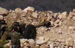 شاهد كيف يمشط الجيش السوي مواقع الصينيين في جبال اللاذقية (فيديو)