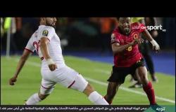 تعقيب لاعبي المنتخب التونسي عقب التعادل مع أنجولا