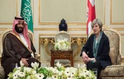 """""""ماي"""" تبحث سبل تهدئة الوضع بالخليج مع ولي العهد السعودي..السبت"""