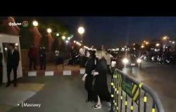أشرف زكي و وندي بسيوني ومصطفي فهمي في عزاء عزت أبو عوف