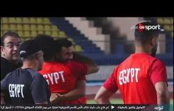 احتضان وحالة من البهجة والفرحة بين محمد صلاح وتريزيجيه