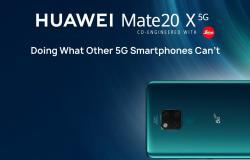 هواوي تطلق ملك هواتف الجيل الخامس الذكية