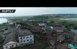 شاهد.. مقاطعة اركوتسك لا تزال تعاني من الفيضانات.. وارتفاع حصيلة القتلى