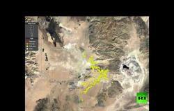 صدع عملاق بعد زلزال كاليفورنيا