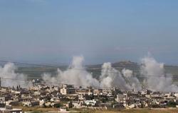 بالفيديو : مقتل 14 مدنيا يقصف لنظام الأسد وروسيا على إدلب