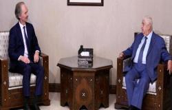 """دمشق تعلن عن """"تقدم كبير"""" نحو تشكيل اللجنة الدستورية"""