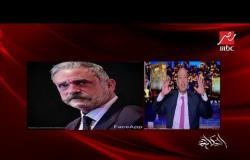 """عمرو أديب يشارك في تحدي الشيخوخة """"Face App"""" ويعلق على صورة الهضبة: عمرو دياب مبيكبرش"""