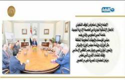موجز الأخبار : الرئيس السيسي يستقبل نائب رئيس غرفة التجارة الأمريكية
