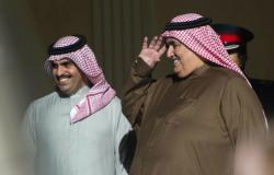 شاهد... مقابلة علنية قصيرة ونادرة بين وزير خارجية البحرين ونظيره الإسرائيلي