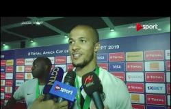 لقاءات ما بعد مباراة تونس ونيجيريا