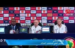جمال بلماضي: منتخب الجزائر قد يخسر نهائي إفريقيا لأن السنغال فريق قوي ولعب في المونديال