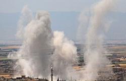 قصف عنيف لطائرات النظام السوري على ريف إدلب (شاهد)