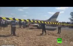 طائرة حربية ليبية تهبط اضطراريا في تونس