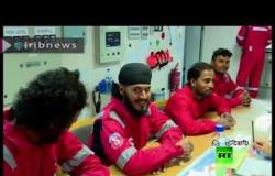 إيران تنشر فيديو لأفراد طاقم ناقلة النفط البريطانية المحتجزة