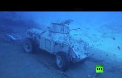 الأردن  تفتتح أول متحف عسكري تحت الماء