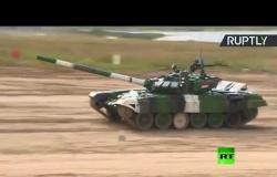 الجيش السوري بالدبابة الخضراء ينافس نظيريه الفنزويلي والكازاخستاني ضمن الألعاب العسكرية الدولية