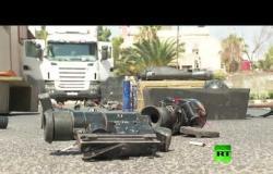 """الجيش السوري يصادر طائرة """"فانتوم 4"""" مسيّرة وصواريخ """"تاو"""" تركها الإرهابيون جنوب سوريا"""