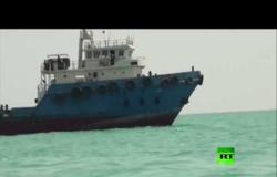 الصور الأولى للسفينة المحتجزة في إيران