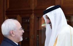"""أمير قطر يتسلم """"رسالة خطية"""" من الرئيس الإيراني"""