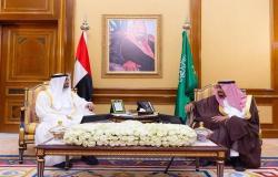 الأوضاع اليمنية تتصدر مباحثات الملك سلمان وولي عهد أبوظبي