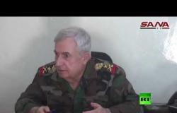 وزير الدفاع السوري يزور بلدة استراتيجية في إدلب بعد طرد المسلحين منها