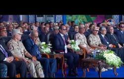 اليوم - الرئيس السيسي : 100 ألف فدان صوبة زراعية يكفي استهلاك 20 مليون نسمة