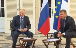 بالفيديو ..بوتين: روسيا تدعم جهود الجيش السوري لاحتواء الخطر الإرهابي في إدلب