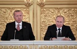 الرئاسة التركية: أردوغان سيجري اتصالا هاتفيا مع بوتين لبحث الوضع في إدلب