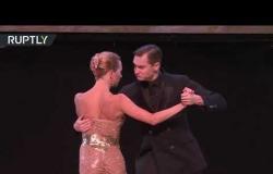 شاهد .. مسابقة رقص التانغو الدولية في الأرجنتين