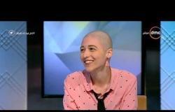 """مصر تستطيع - الإعلامي شريف يفاجئ ضيوف مصر تستطيع علي الهواء بـ """"تيشيرت"""" لدعم ميرنا مريضة السرطان"""