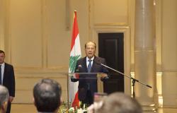 الرئيس اللبناني يدين الاعتداء الإسرائيلي على الضاحية الجنوبية