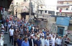 يوم غضب جديد للاجئين الفلسطينيين في مخيمات لبنان (شاهد)
