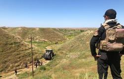 """الحشد الشعبي يعثر على مضافة لـ""""داعش"""" في صحراء الأنبار"""