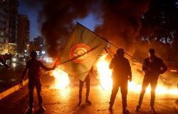 """بالفيديو: إشكال كبير بين عناصر """"حركة أمل"""" اللبنانية خلال مناسبة في الضاحية الجنوبية"""