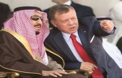 الملك عبدالله لخادم الحرمين: الأردن تدين الاعتداء على معملي أرامكو