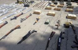 الأجهزة الأمنية السورية تضبط كمية كبيرة من الأسلحة بريف درعا... فيديو وصور