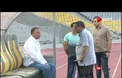 الخطيب يحفز لاعبى الأهلي قبل السوبر بحضور مؤمن زكريا