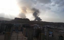 الجيش اليمني: قتلى وجرحى من الحوثيين باستهداف التحالف مركز عمليات في حجة